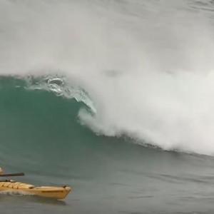 Best sea kayak surfing
