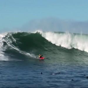 surf kayaking tao Berman Paddle World