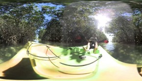 360 degrees video Florida kayaking Paddle World