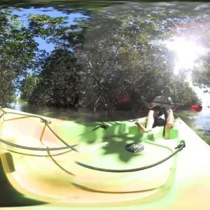 360 degrees video Florida kayaking Paddle World