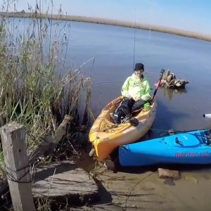 sheepshead kayak fishing paddle World
