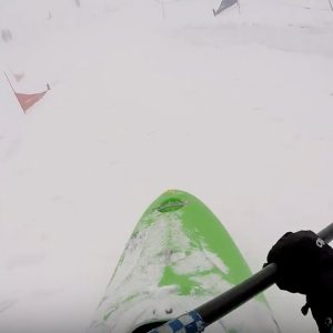 Snow kayaking Idaho Offline Outdoor Paddle World