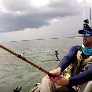 Robert Field Kayak fishing Paddle World Sharks