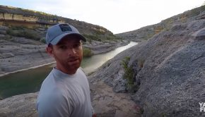 Pecos river kayak fishing paddle World
