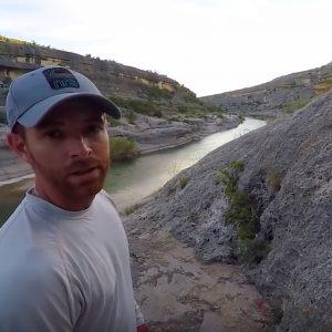 Pecos river kayak fishing paddle World