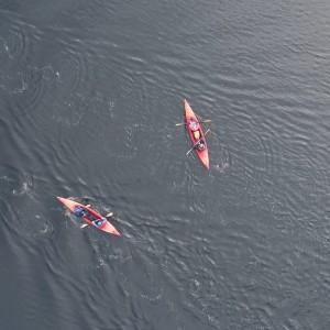 Latvia sea kayaking paddle World