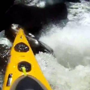 Extreme sea kayak Paddle World