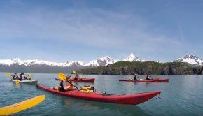 Kayaking Alaska Paddle World