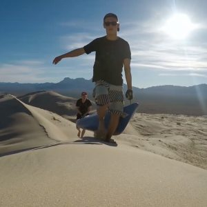 Kelso Dunes kayaking Paddle World