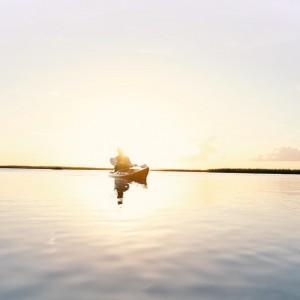 A kayaker Sound PaddleWorld