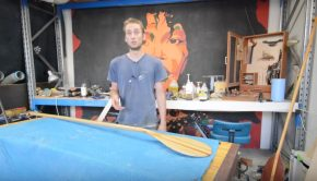 build your own wood paddle World