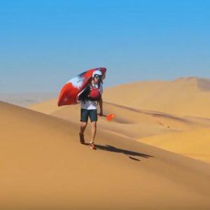 kayaking Dunes Namibia paddle world