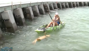 Kayak Fishing For Captchancey Pet Grouper: Can A Girl Catch A Giant Fish In Florida?
