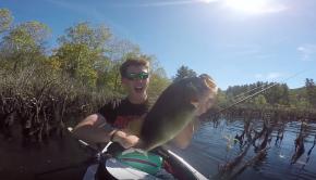 Origami Kayak Fishing SECRET Swamp -- Homecoming Tour