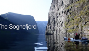 FJORDS - Kayaking on the Sognefjord in Norway