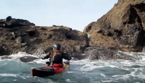 Rough water kayak cowgirl Drill - Sea Kayaking
