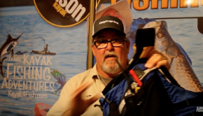 In this kayak fishing tip, Jim Sammons gives a run down on how to dress for winter fishing in order to stay warm and safe while kayak fishing in cold water or cold weather.