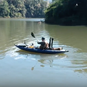 Solo kayaking in Northern Thailand