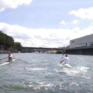 Rowing vs Kayaking!