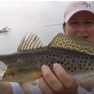 """FLORABAMA TROUT FEST"" Kayak fishing Pensacola Florida for Trout"