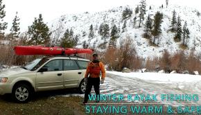 Winter Kayak Fishing: Staying Warm and Safe