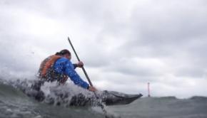 Sea Kayak Surf Session