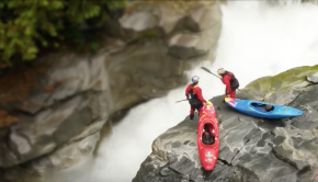 We shrunk two kayakers and this happened.