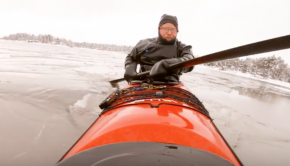 Winter Kayaking in Norway!