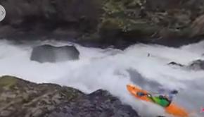 Kayaking waterfalls in 360 video with Rafa Ortiz.