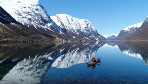 Kayaking in western Norway - Best Drone clips 2017