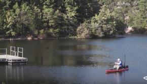 Kayak Fishing Arkansas   Bella Vista Lakes