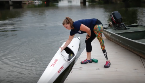 Kayaking at Paralympics - Kelly Allen Interview