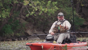 Kayak Fishing Lily Pads | JUST THE TIP