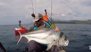Kayak Fishing for Trophy Roosterfish at Los Buzos | Field Trips Panama