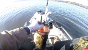 Kayak Fishing for TROPHY Bass!!!