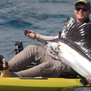Extreme Kayak Fishing for Sailfish