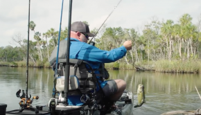 Fishing with Magnum Flukes | JUST THE TIP | Kayak Bass Fishing