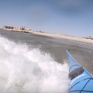 Kayak Surfing Tiny Waves - Fun in 1-2 footers - Kayak Hipster