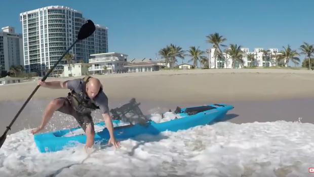 Bonafide Kayaks SS127 Does It SURF???