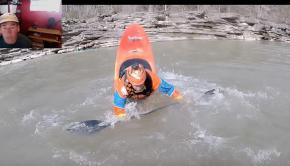 Eric Jackson Teaches Whitewater Kayaking- the Bow Pirouette