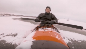 Why I love Winter Kayaking