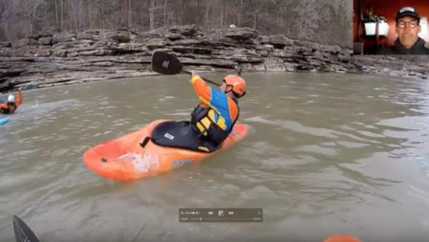 Eric Jackson Teaches Whitewater Kayaking- the Super Clean Cartwheel in MixMaster