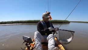 Limit of slot reds, kayak fishing on the Texas Coast