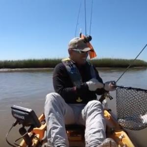 Limit of slot reds, kayak fishing on the Texas Coast