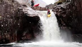 Kayaking Glen Etive, Scotland