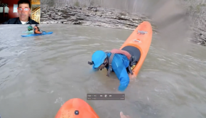EJ Teaches Playboating- Whitewater Kayaking- Bow and Stern Stall in MixMaster