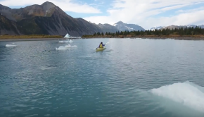Bear Glacier Lagoon Kayaking | Alaskan Adventure