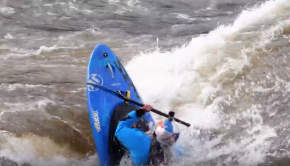 Kayakers vs Whirlpools!
