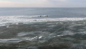 Drone footage - Sea kayaking along the Green bay