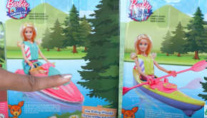 Unbox Daily: Barbie Camping Fun - BARBIE KAYAKER!!!